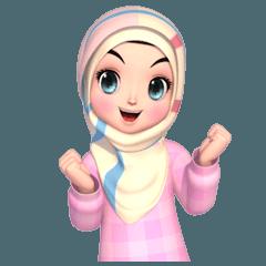 Amarena Muslim hijab girl