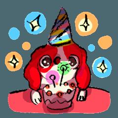 ちょうすけの絵日記「お誕生日おめでとう」