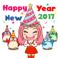 Ginny&Chicks New year 2017