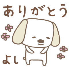 よしちゃんイヌ dog for Yoshichan