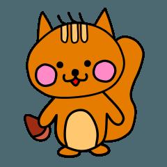 [LINEスタンプ] RiSUさん (1)