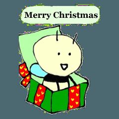 みつばちビ―のクリスマス