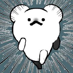 ←動くクマがきたぞーーー!