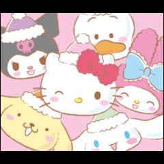 冬のサンリオキャラクターズ