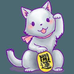 [LINEスタンプ] ほんわかアニマルzoo~猫編~ (1)