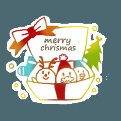 クリスマス★ハンコスタンプ