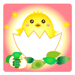 [LINEスタンプ] いろとりどりの鳥