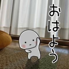 [LINEスタンプ] 小さい子・・・動くんです (1)
