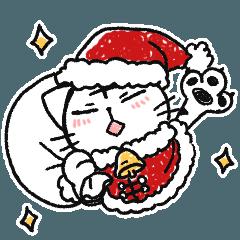 ネコだと思い込んでるトラオ -Xmas&正月-