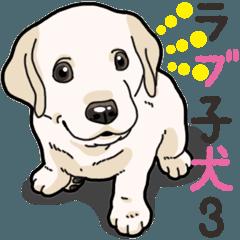 わんこ日和ラブラドールの仔犬 3