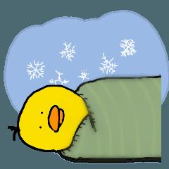 ピヨこ4(.8.) 寒い冬バージョン
