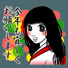 【お正月専用】毎年使える☆着物ガール