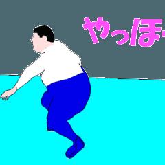 ▶動く!フィギュアスケートアニメおデブ編