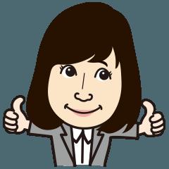 上野美幸オリジナルスタンプ