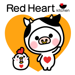 Red Heart kitchen ♥ feat.うさたん
