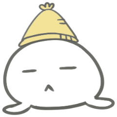 関西弁ニット帽アザラシ