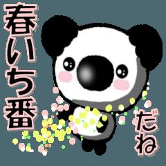まめクマ❤春パンダ