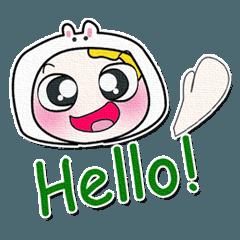..こんにちは! 私の名前は山田..> _ <