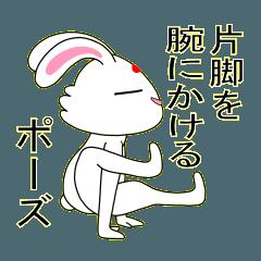 ヨガうさぎ(レッキス)