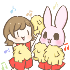 RGFF:うさぎと少女.楽しい仲間たち.