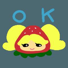 いちごの妖精ちゃん