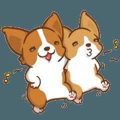Corgi Dog Kaka - Good Friends vol. 3