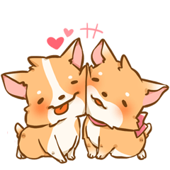 Corgi in love (Eng. Version)