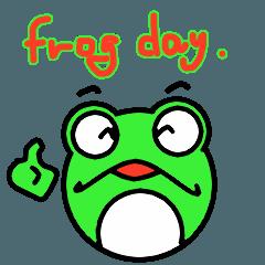 まん丸カエルの日々