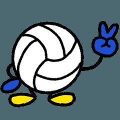 バレーボール 4(日常会話)