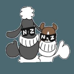 ひつじのセバスチャンと牧羊犬ルークの日常