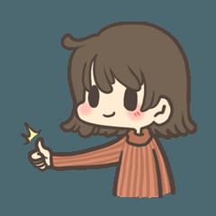 The cute girl : Mumu (Eng.)