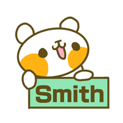 Sticker for Smith