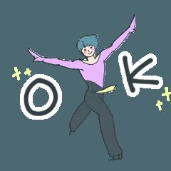 動く!フィギュアスケート男子!