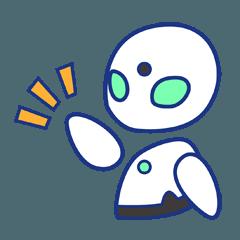 [LINEスタンプ] 分身ロボットOriHimeの画像(メイン)