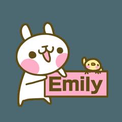 エミリーさんのスタンプ