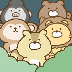 森の仲間たちの日常。
