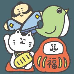 かわいい和風イラスト