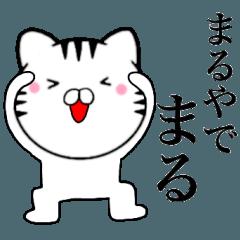 [LINEスタンプ] 主婦が作ったデカ文字 関西弁ネコ2 (1)