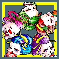 花魁ライフ(オールシスターズ)1