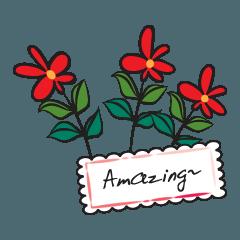 beautiful flower talk