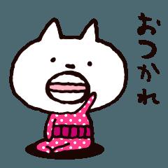 丸ひげ昭和猫